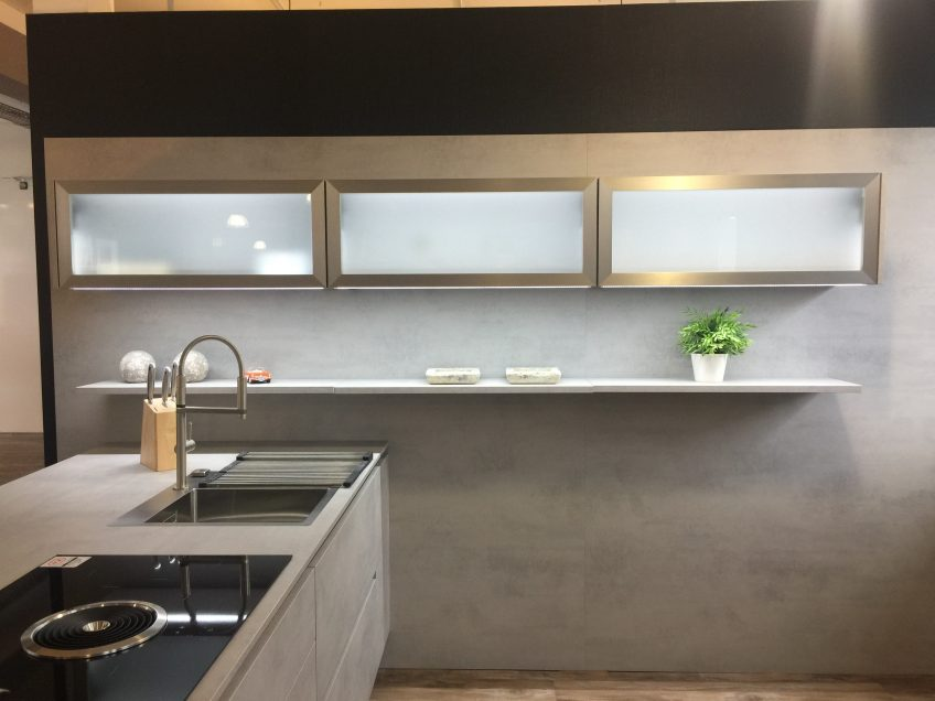 Kuchen Bauer Verkauft Nobilia Riva Elegante Kuche In Beton